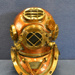 US Navy Mark V Model I diving helmet; DESCO; After 1942; 993.051