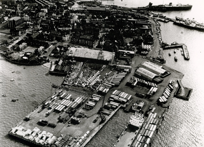 Aerial View of Harwich