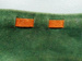 Necktie; John Webster, suede, green with tan detail; John Webster