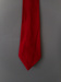 Necktie; Parisian, boy, red tone, plain solid colour, pure wool.; Parisian Neckwear Company Limited; Unknown