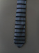 Necktie: Parisian; blue tone; stripes; Parisian Neckwear Limited (Est 1919); c. 1940; 20299