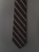 Necktie; Klipper, boy, brown tone, stripe pattern.; Klipper; Unknown