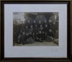 Framed group photograph Sydney Harbour Trust Fire Brigade ; 1913; 2018.1