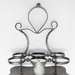 Silver plated cruet stand ; 2008.152