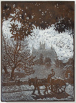 St. Mary's (Woodblock); Lionel Lindsay (b.1874, d.1961); 1922; 2016.109