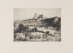 Villefranche (Castle Villefranche); Lionel Lindsay (b.1874, d.1961); 1926; 2017.338