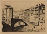 Sospel, France; Lionel Lindsay (b.1874, d.1961); 1927; 2016.61