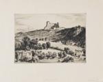 Villefranche (Castle Villefranche); Lionel Lindsay (b.1874, d.1961); 1926; 2017.337