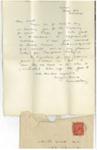 Letter to A. R. Walt; Lionel Lindsay (b.1874, d.1961); 2016.222