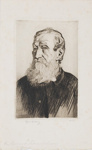 Portrait of the Reverend Thomas Williams; Lionel Lindsay (b.1874, d.1961); 1931; 2017.358
