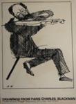 The Violinist (Screenprint); Charles Blackman (Australian, b.1928, d.2018); 1975; 2008.104.b