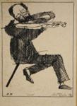 Violinist; Charles Blackman (Australian, b.1928, d.2018); 1975; 2008.103