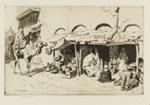 The Barber of Bou-Saada; Lionel Lindsay (b.1874, d.1961); 1929; 2016.77