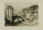 Sospel, France; Lionel Lindsay (b.1874, d.1961); 1927; 2016.60