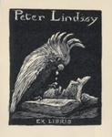 Bookplate of Peter Lindsay; Lionel Lindsay (b.1874, d.1961); 1923; 2004.085
