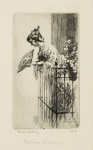 The Little Balcony; Lionel Lindsay (b.1874, d.1961); 1921; 2016.38