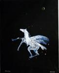 Pegasus; Charles Blackman (Australian, b.1928, d.2018); Circa 1986; 2008.112
