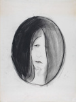 Female portrait; Charles Blackman (Australian, b.1928, d.2018); Circa 1982; 2012.039