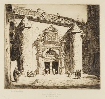 San Idelfonso, Jaen, Andalusia; Lionel Lindsay (b.1874, d.1961); 1929; 2016.76