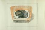 Cats Basket; Charles Blackman (Australian, b.1928, d.2018); 1976; 2012.069.a