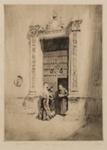 The Canon's Niece, Spain; Lionel Lindsay (b.1874, d.1961); 1919; 2016.34