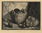 The Chinese Basket; Lionel Lindsay (b.1874, d.1961); 1924; 2016.140
