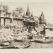 The Burning Ghat, Benares; Lionel Lindsay (b.1874, d.1961); 1930; 2016.81
