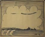 Flight Over City; Charles Blackman (Australian, b.1928, d.2018); 1975; 2008.105