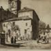 The Parroquia del Sagrario, Malaga (At the Bishop's Palace, Sagrario of the cathedral, Malaga); Lionel Lindsay (b.1874, d.1961); 1937; 2016.86