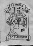 Bookplate for J.S.C. Elkington; Norman Lindsay (b.1879, d.1969); 1898-1900; 2004.090