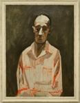 Man in Red Striped Pyjamas; Charles Blackman (Australian, b.1928, d.2018); Circa 1963; 2005.142
