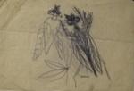 Cicadas; Charles Blackman (Australian, b.1928, d.2018); Circa 1953; 2008.064