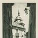A Street, Toledo; Lionel Lindsay (b.1874, d.1961); 1938; 2016.87
