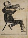 Violinist; Charles Blackman (Australian, b.1928, d.2018); 1975; 2008.102