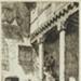 A Courtyard, Segovia; Lionel Lindsay (b.1874, d.1961); 1929; 2016.71
