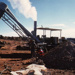 Mining with a blower; 1964; 1980 0045