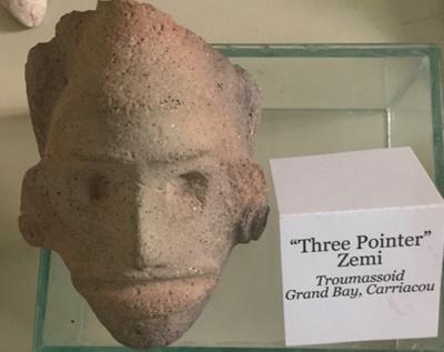 Three Point Zemi - Troumassoid; Carriacou