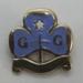 Air Ranger Bronze Enamel Tenderfoot Badge; Collins London; c1946-50