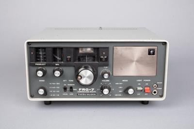 Radio, FRG-7 Yaesu Receiver; 1975-1985; Unknown