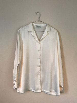 Cream Shirt; Basler; 1980's; 2018/04