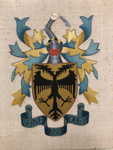Heraldry Sampler; Gillian Creelman; c1952; 2018.2