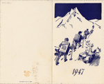 1947 New Zealand Biscuit and Confectionery Manufacturers' Association dinner menu; 2007.742.1