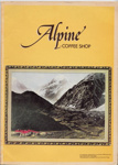 Alpine Coffee Shop menu; 2007.853.1
