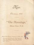 Christmas menu 1930; 2007.754.1