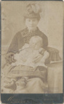 Woman with baby; 1890?; ULMPH 2000 0164