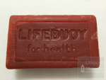 2 bars of Lifebuoy soap ; ULM 2001 015 a and b