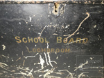 Tin chest 'School Board of Lochbroom'; ULM ACC 1997 193