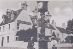 Caledonian Hotel & Fowler clock with lanterns; ULMPH 2000 0052