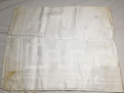 Table cloth; ULM 1999 253