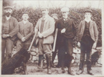 Six men (two guns) and two dogs; ULMPH 2000 0185